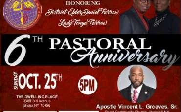 6th Pastoral Anniversary